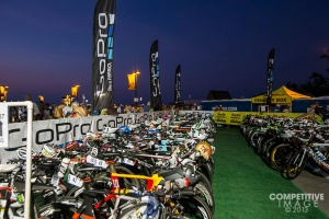 Here is a great picture of the bikes race morning....