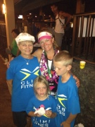 Mom & Kiddos after a long long day!!