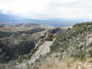 This was what I chose to do on my birthday.... climb 9,000 ft. up Mt. Lemmon (isn't it beautiful?!)