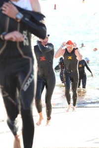 Wetsuit shots are always horrific.... thought this one was funny (I am the happy one!)