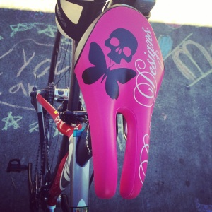 GO BETTY GO!!!! (LOVE LOVE LOVE my new bike seat)